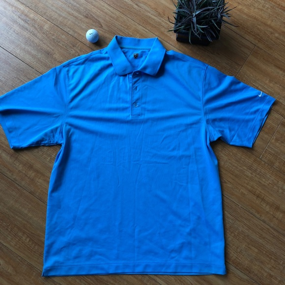 Nike Other - Nike Golf Powder Blue Polo